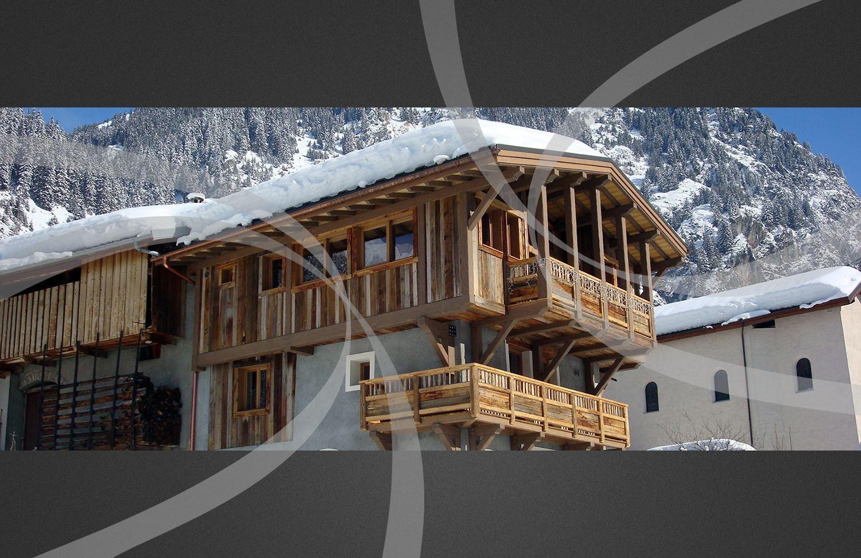 Cout construction maison ossature bois savoie for Cout construction chalet